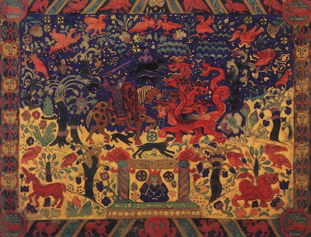 Николай Рерих - Бой со змеем