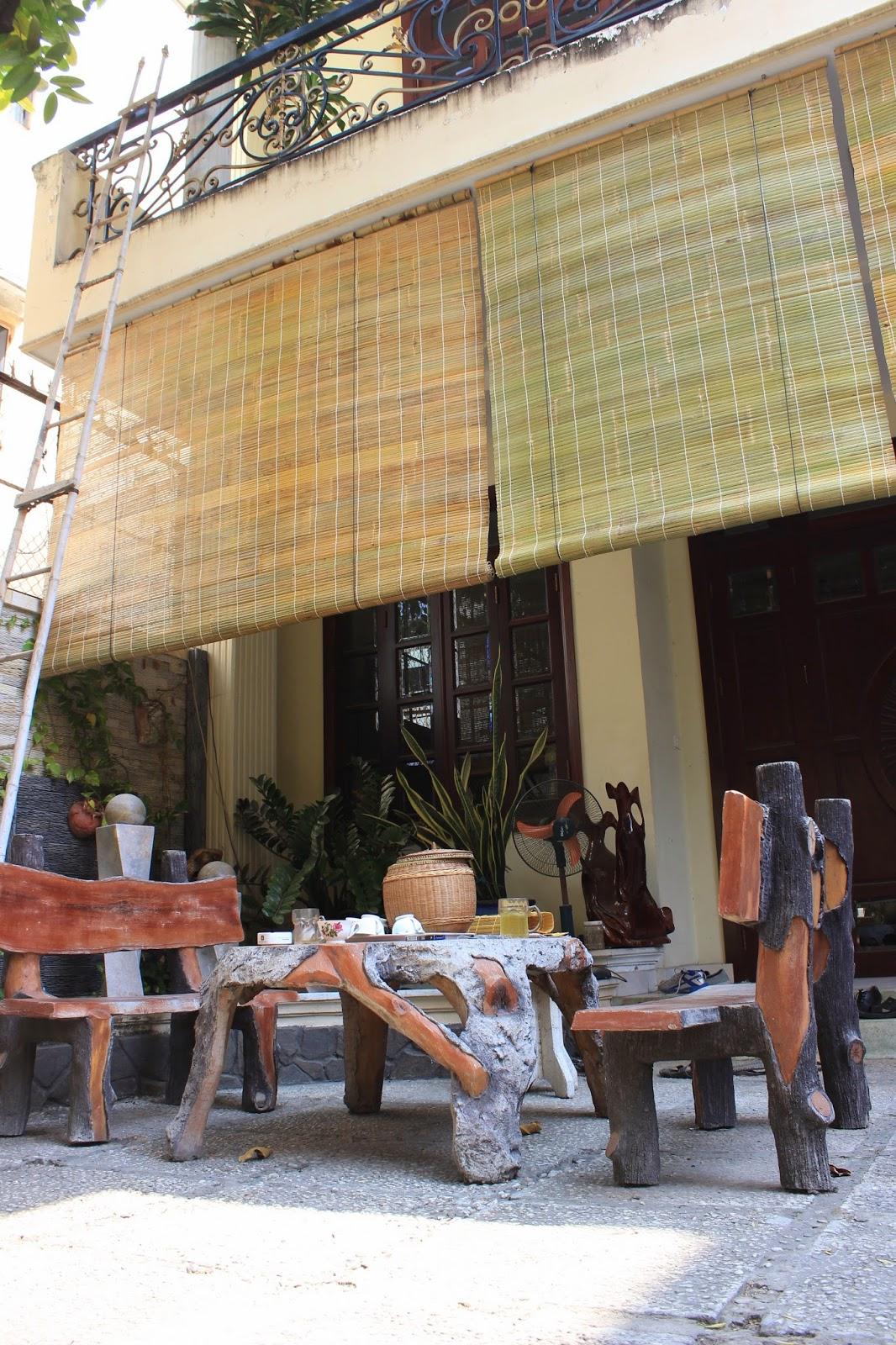 Rèm tre trúc chống mưa nắng huyện Bình Chánh
