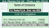 How to Delete Company in Tally Erp 9 in Hindi