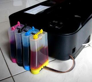 Cara pemakaian Printer Infus dengan benar