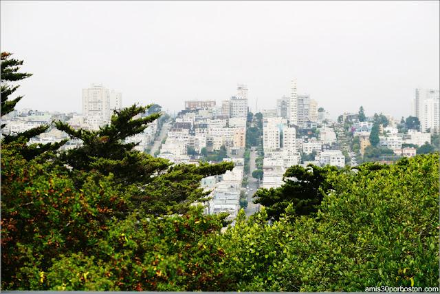 Vistas desde el Exterior de la Torre Coit de San Francisco