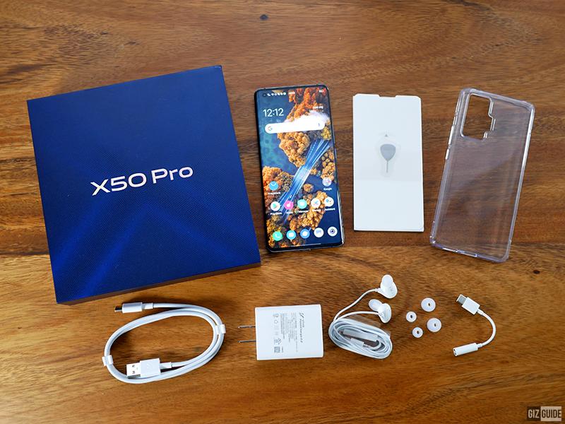 X50 Pro unboxed