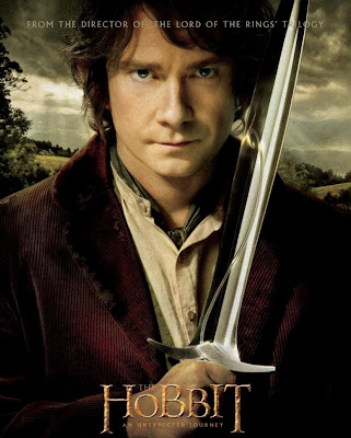 Poster Of Free Download The Hobbit An Unexpected Journey 2012 300MB Full Movie Hindi Dubbed 720P Bluray HD HEVC Small Size Pc Movie Only At worldfree4u.com
