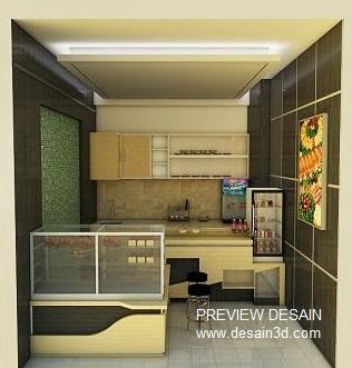 preview desain cafe mini kios sederhana warung makan