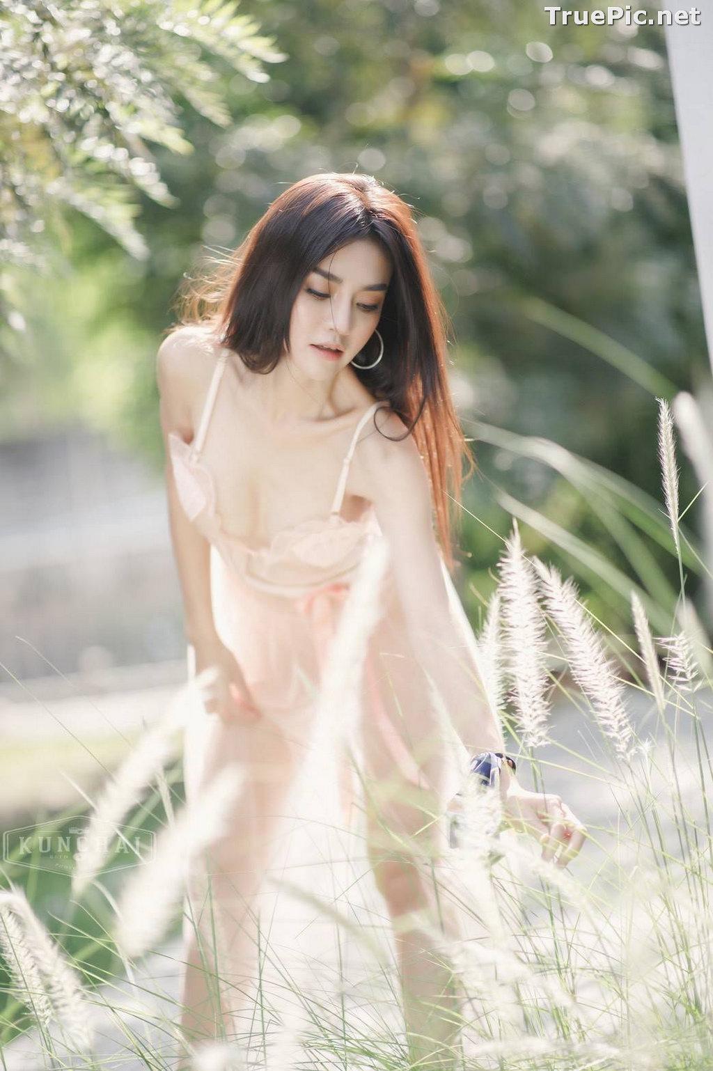 Image Thailand Model - ลฎาภา รัชตะอมรโชติ - Pink Transparent Lingerie - TruePic.net - Picture-2