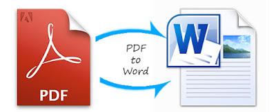 تحويل pdf الى doc docx بي دي اف الى وورد
