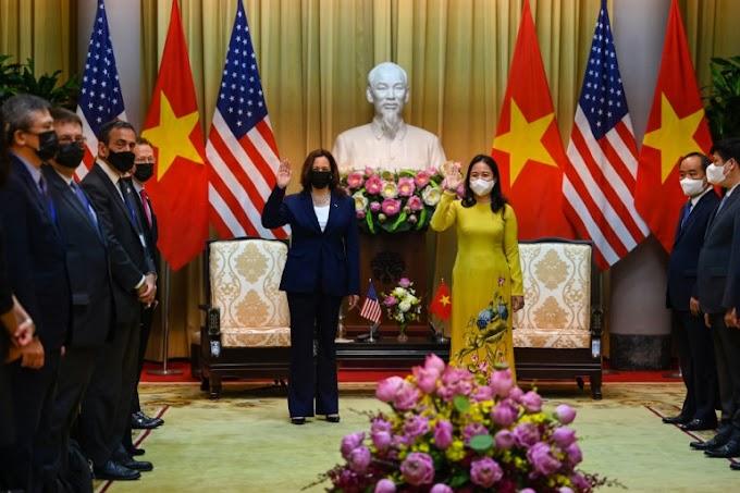 Harris Begins Vietnam Trip Despite 'Attacks' on U.S. Diplomats