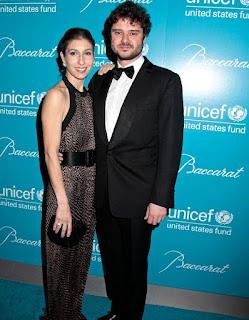 Picture of Domitilla Dotti with her spouse Luca Dotti