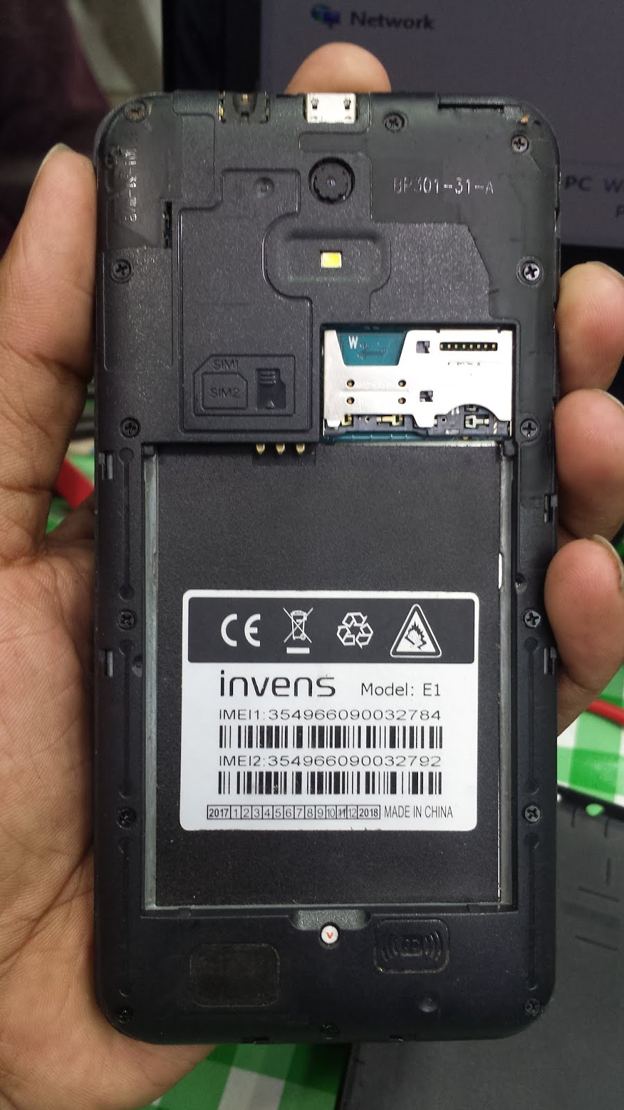 Invens E1 Stock Firmware SP7731 6.0 Tested