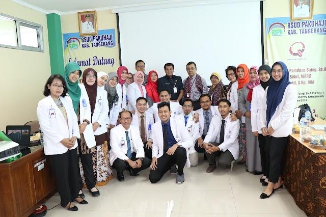 RSUD Pakuhaji Ikuti Akreditasi Rumah Sakit