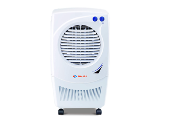 Bajaj Platini PX97 Torque 36-litres Personal Air Cooler (White)- for Medium Room on Amazon