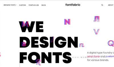 Situs Tempat Download Font Gratis Terlengkap