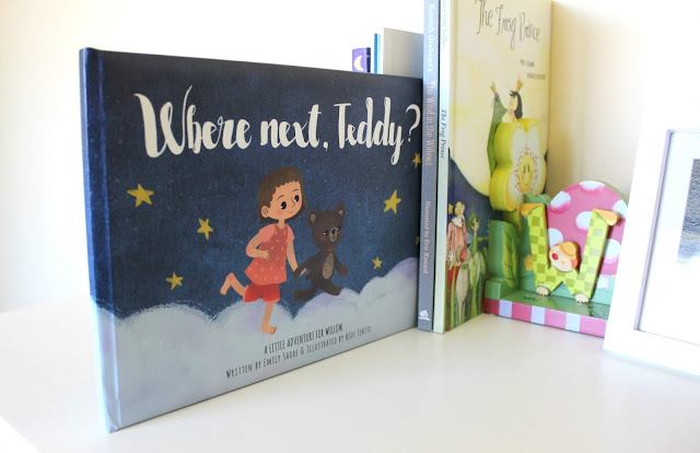 A review of personalisable children's book Where next, Teddy?