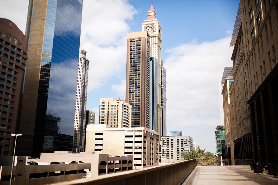 dubai skyline ritz carlton mbf_dubai luxury hotel