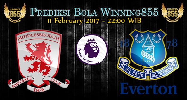 Prediksi Bola Middlesbrough vs Everton