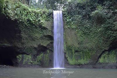 Asrinya Air Terjun Tibumana mengalir diantara kesunyian - Backpacker Manyar