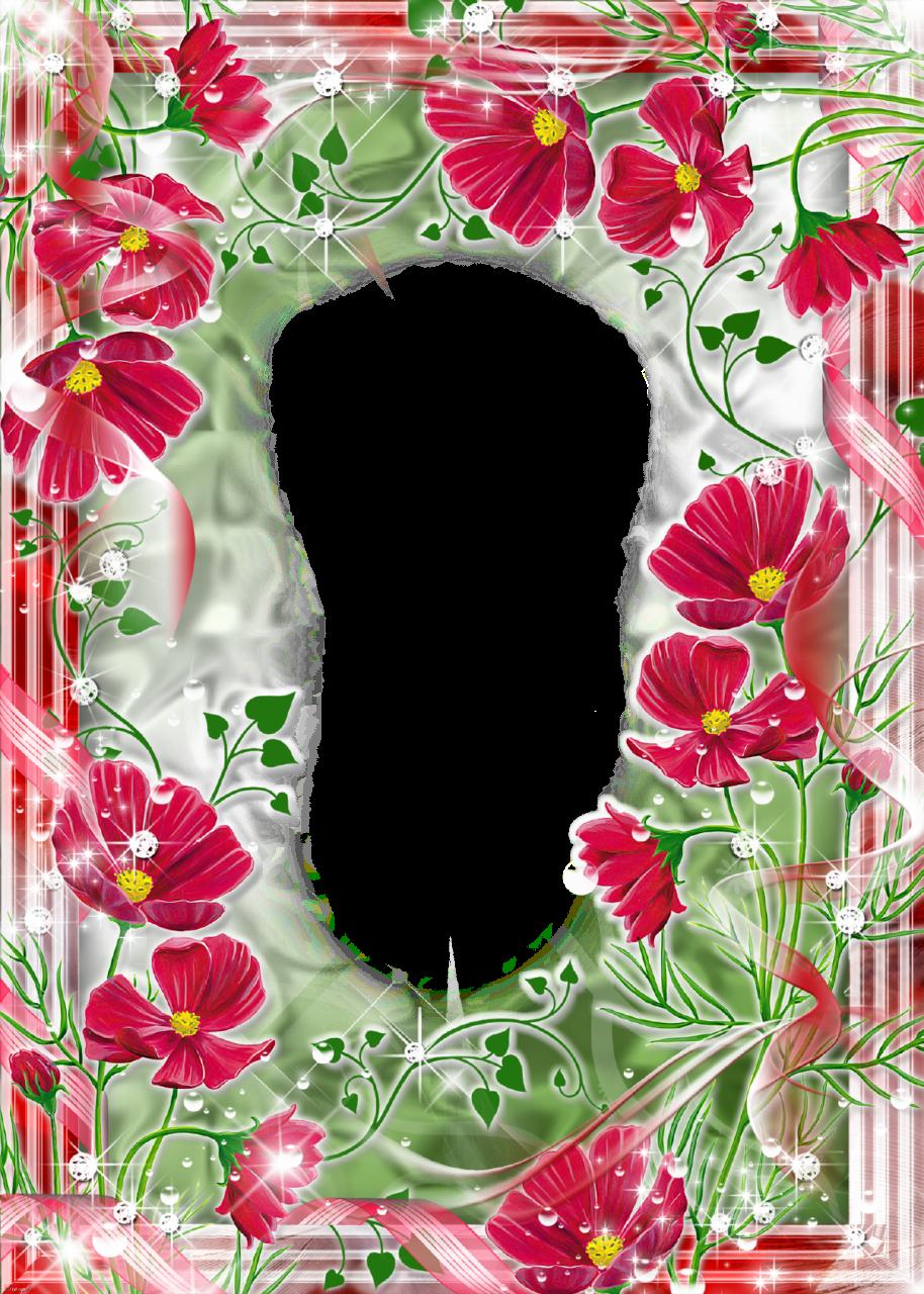 El rincon de imagenes marcos flores for Fotos pinterest