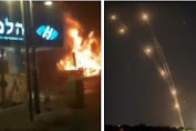 Roket Hamas Tembus Iron Dome, Warga Israel Lari Kocar Kacir