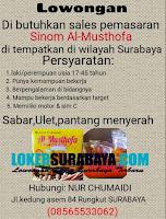 Jobs Vacancy di Sinom Al-Musthofa Surabaya Terbaru Nopember 2019