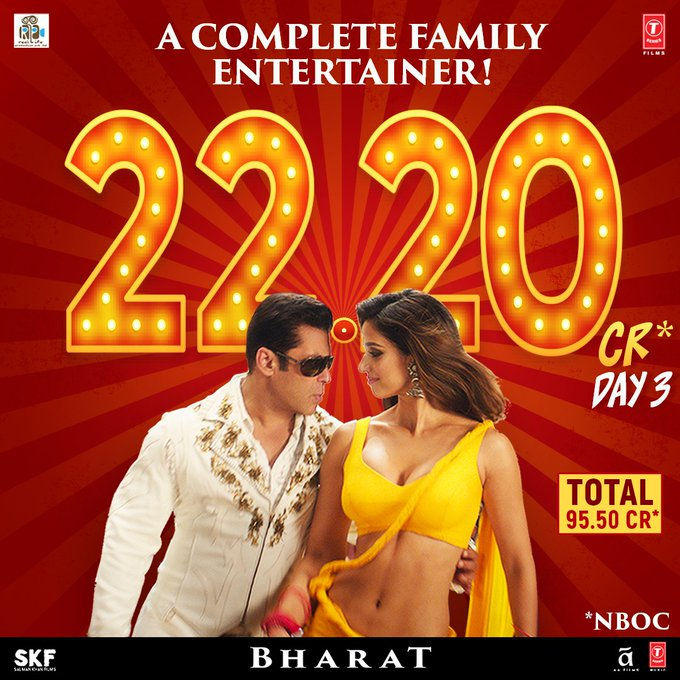Bharat box office collection Day 3, (Photo - Twitter)