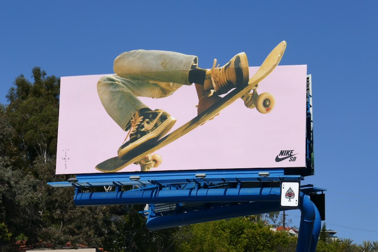 Nike SB Cactus Jack skateboard extension billboard