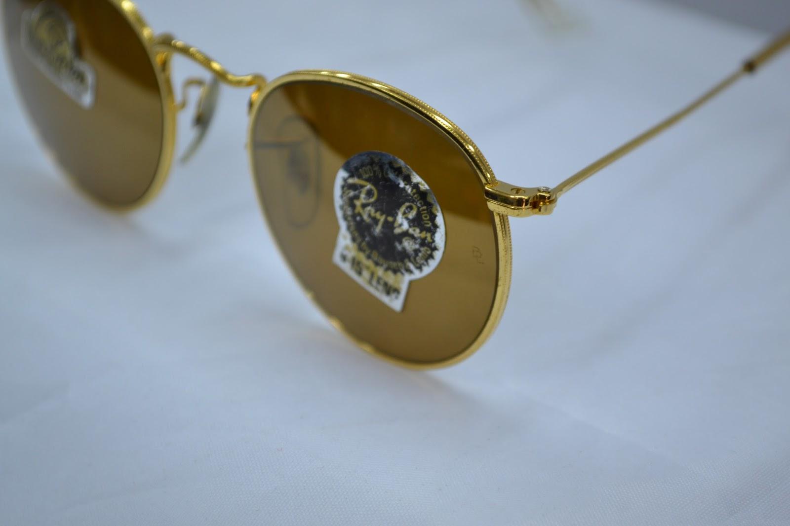 7a79930ae86 Vintage sunglass  Vintage Ray Ban diamond Hard Round sunglass ...