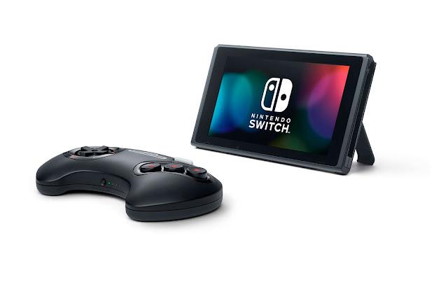 Novas imagens dos controles de N64 e Mega Drive para o Nintendo Switch Online são divulgadas