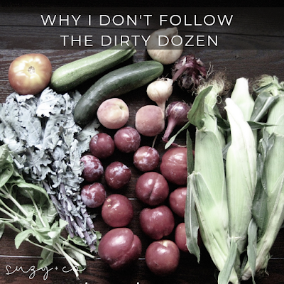 why I don't follow the dirty dozen