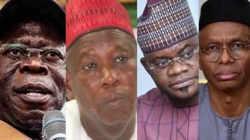 Oshiomhole, Kano and Kogi state Governors reportedly on US Visa ban list