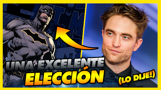 💣 THE BATMAN: MOTIVOS POR LOS QUE ROBERT PATTINSON SERÁ UN GRAN BATMAN!