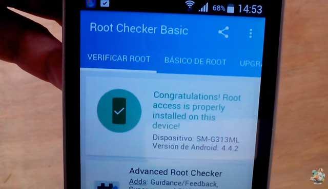 root exitoso samsung galaxy ace 4