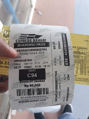 Tiket Kapal Bahari Express