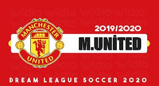 Manchester United FC 19/20 - DLS2020 Dream League Soccer 2020 Forma Kits ve logo