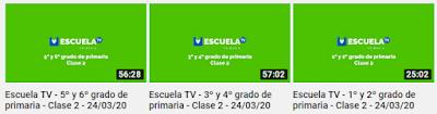 Clase 2 para 1° a 6° de primaria de EducaTv de TvNL Canal28