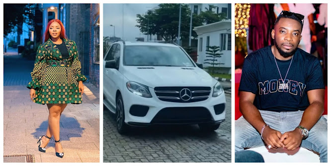 Laura Ikeji Celebrates her Brother Peks as he gifts himself a Benz as a birthday gift (video)