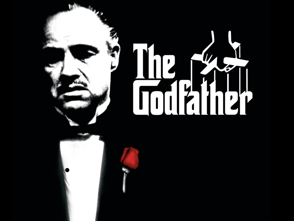 The Godfather (1972) Poster, Marlon Brando, cross, Directed by Francis