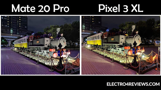 Night mode ON: Pixel 3 vs. Mate 20 Pro   electro4reviews