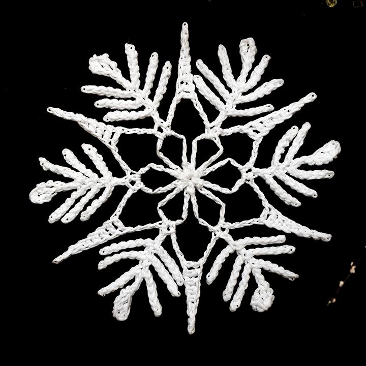 Crochet Treasures Snowflakes Challenge Week 5