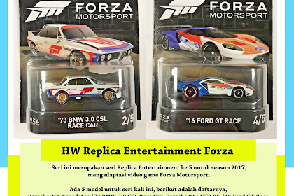 Hot Wheels Replica Entertainment Mix 5 2017 : Forza Motorsport