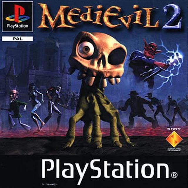Medievil 2 - PSX - Portada