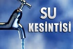 Su Kesintisi 22 Temmuz 2015 Ankara'da Su Kesintisi