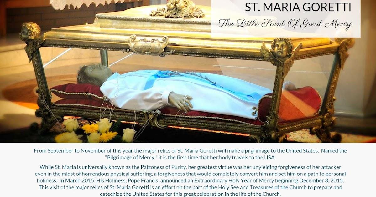Maria Goretti Relics St