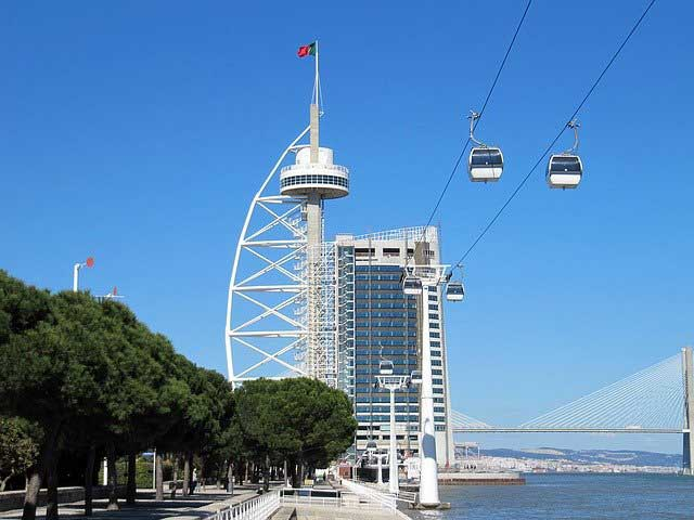 Vasco da Gama Tower Lisbon