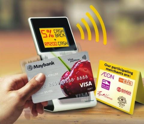 Cara Matikan Fungsi PayWave Pada Kad Debit Maybank