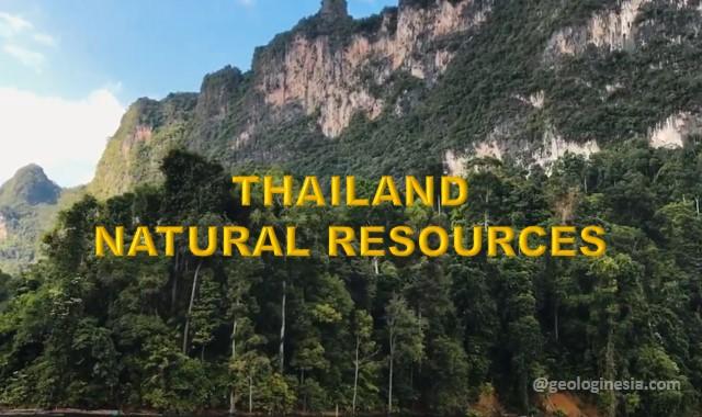 sumber daya alam di thailand