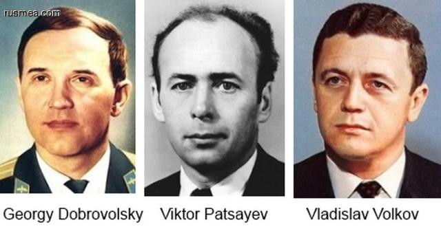 Georgy Dobrovolsky e outros