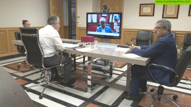 Ángel Víctor Torres celebra otra sesión de seguimiento con Fecam y Fecai sobre los efectos de la Covid-19
