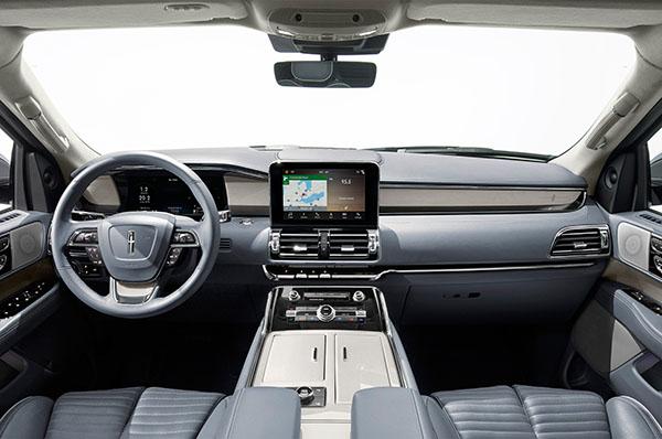 burlappcar 2018 lincoln navigator interior