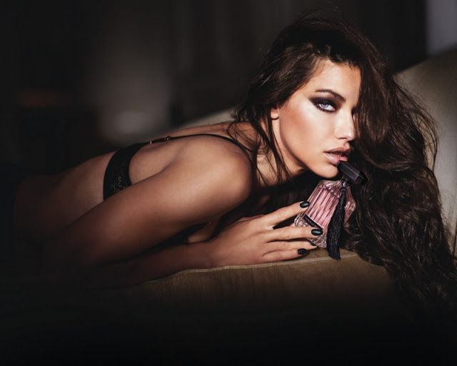Adriana Lima sizzles for Victoria's Secret Intense Fragrance Campaign