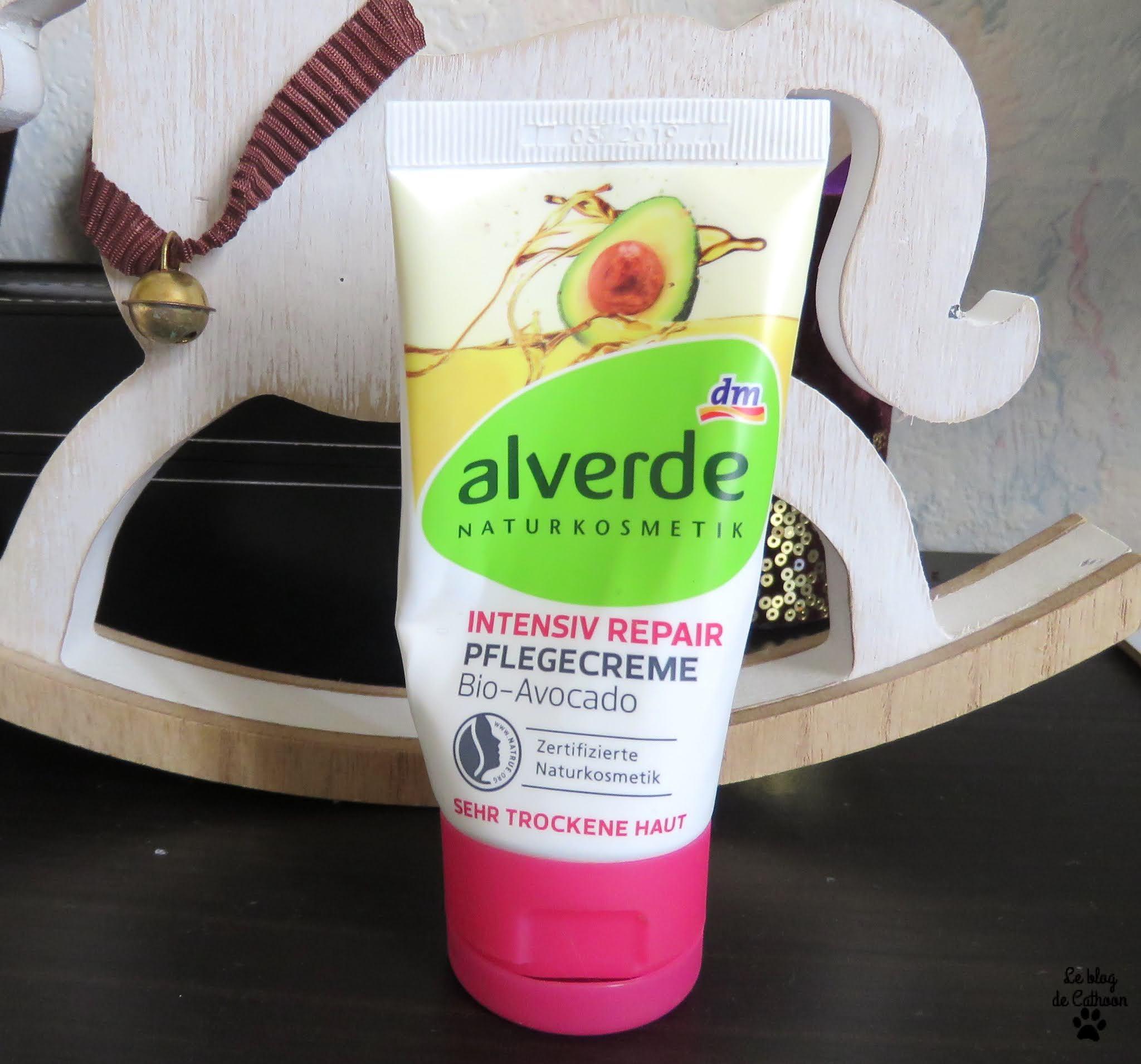 Intensiv Repaire - Crème pour le Visage à l'Avocat - Alverde